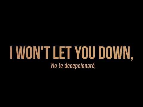 Calum Scott - Won't Let You Down LYRICS (Sub Español)