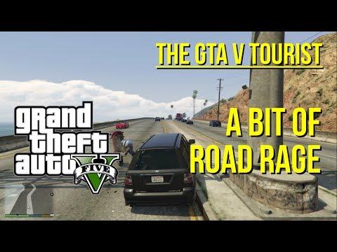 The GTA V Tourist: A Little Bit of Road Rage