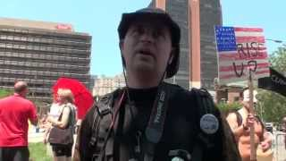 Occupy Philly: Former Soviet Citizen vs. Anarchist Photographer on Outsourcing, Healthcare, Taxes