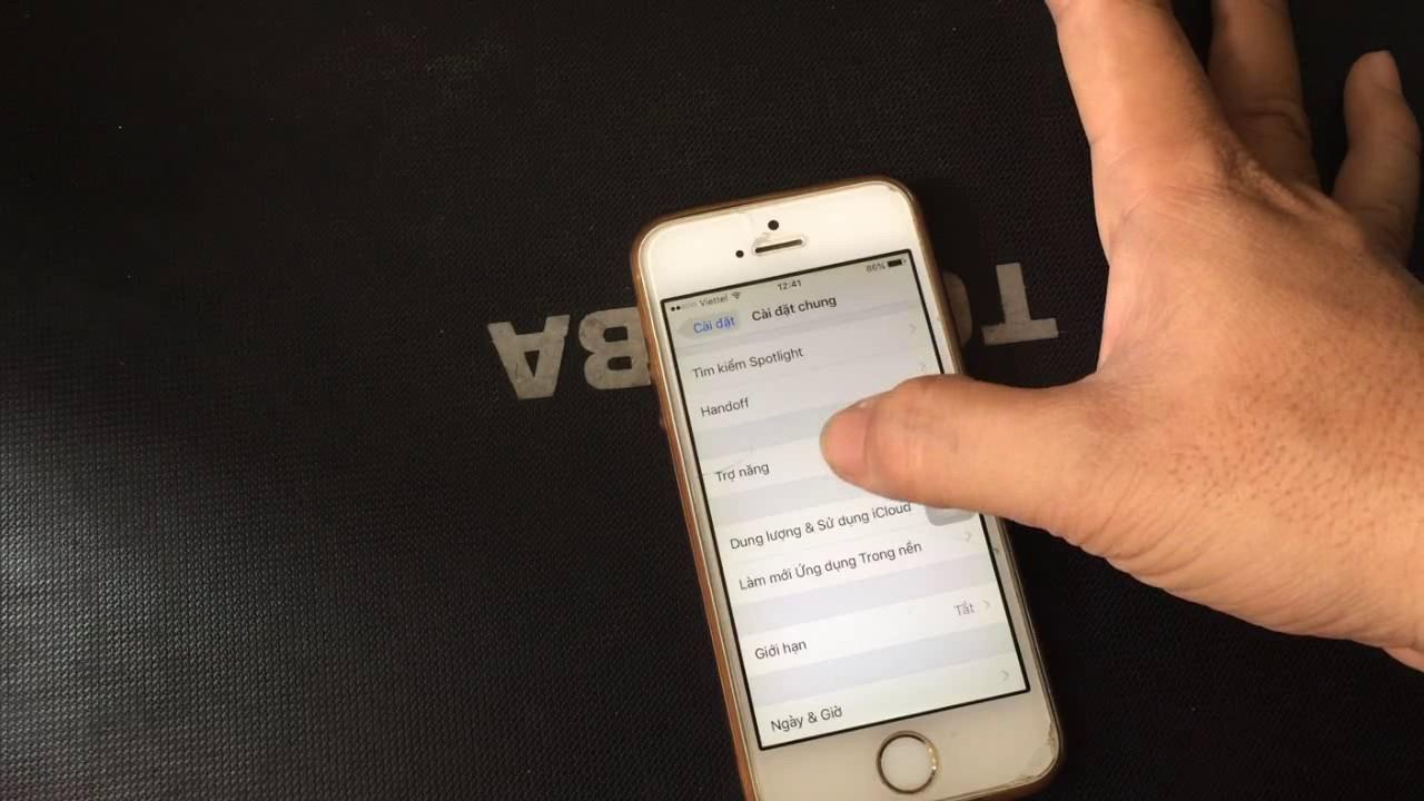 Cách hiển thị bàn phím nút home ảo trên iphone 5s, và iphone 4,6,7,8 – Hai Nguyen Channel