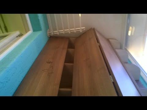 Шкаф на балкон своими руками.