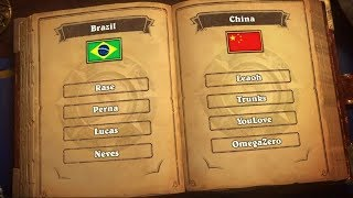 China vs Brazil - Finals - 2018 Hearthstone Global Games - Blizzcon