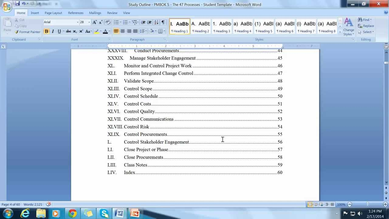 pmp how to build your own pmp study guide outline youtube