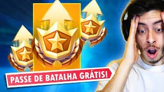 ¡PASE DE BATALLA GRATUITO! MUY LOCO EPIC! -Fortnite, el