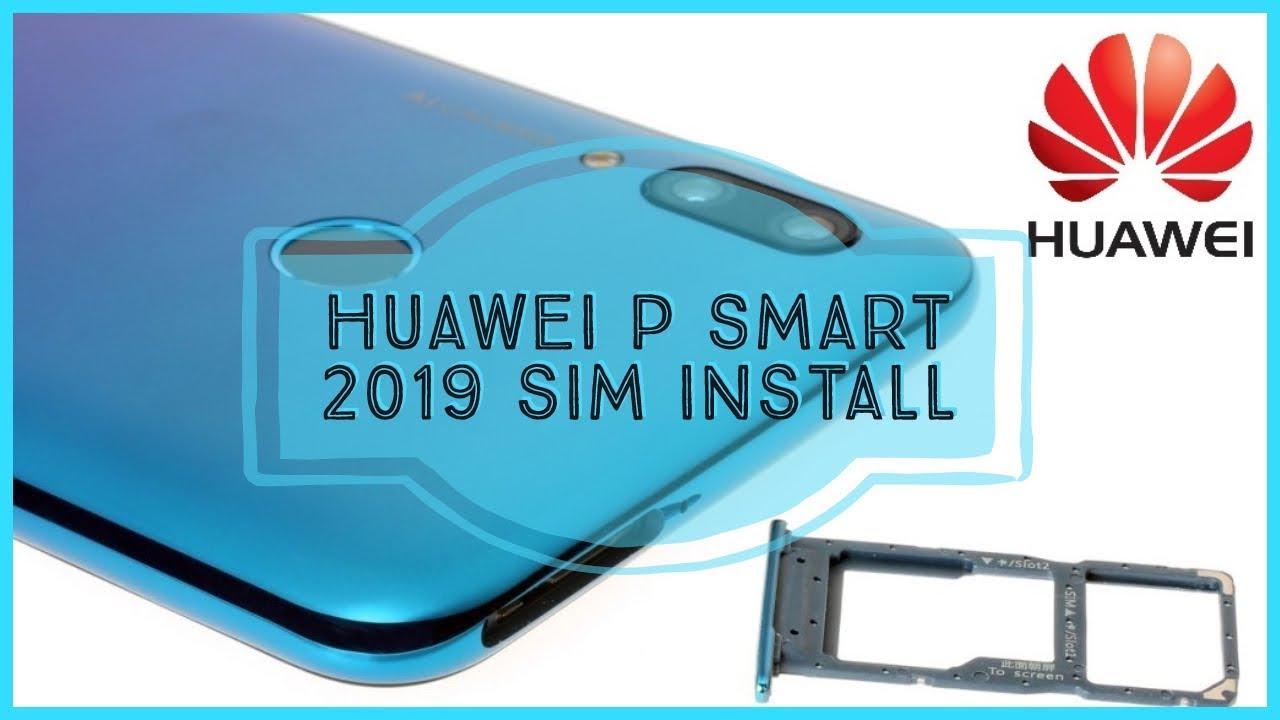 Huawei P Smart Sim Karte.Huawei P Smart 2019 How To Insert The Sim Card Sd Card Kako Ubaciti Nano Sim Sd Karticu