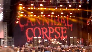 Cannibal Corpse - Only One Will Die (live 2018-07-25 - Metaldays Festival, Slovenia)