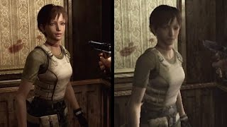 Resident Evil 0 HD Remaster Comparison - Prototype (1999) vs. Original (2002) vs. HD Remaster (2016)