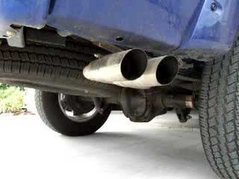 2006 Supercharged Ford Ranger Exhaust Clip Youtube