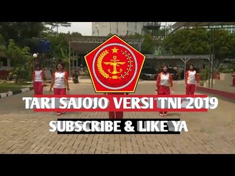 Sajojo Tari Sajojo Formasi Segitiga Versi TNI 2019