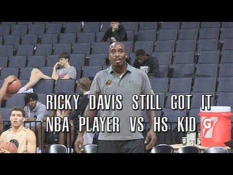 Ricky Davis Still Has Bounce! Former NBA Player vs High Schooler Antwann Jones