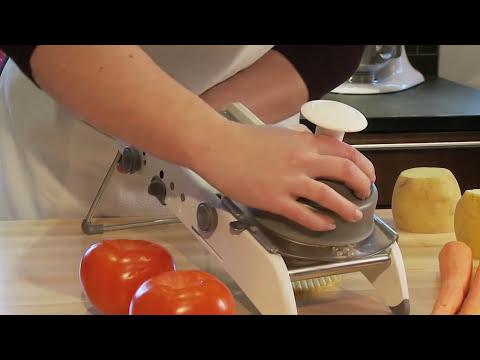 PL8® Professional Mandoline - Kitchen Demo Video - Progressive International
