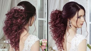 BRIDAL HAIR TUTORIAL. Свадебная прическа: как