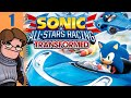 Let's Play Sonic & All-Stars Racing Transformed Multiplayer Part 1 - After what you did to Andrew