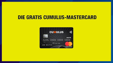 Die Gratis-Cumulus-Mastercard