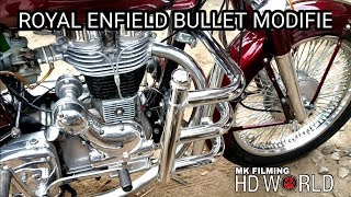 ROYAL ENFIELD BULLET 350 | BULLET 350 MODIFIED RESTORATION | 92 SPOKES MODIFIED |