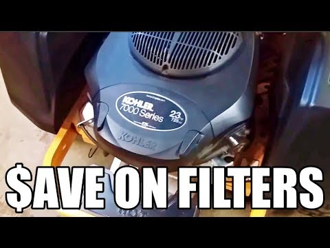 Kohler Filters: Watch This BEFORE You Buy a Kohler Oil Filter At a Big Box  Store!