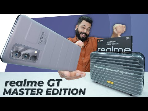 realme GT Master Edition Unboxing & First Impressions ⚡ Snapdragon 778G, 120Hz, GT Mode & More