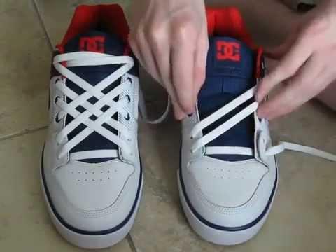 Идеи завязывания шнурков
