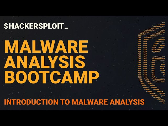 Malware Analysis Bootcamp - Introduction To Malware Analysis