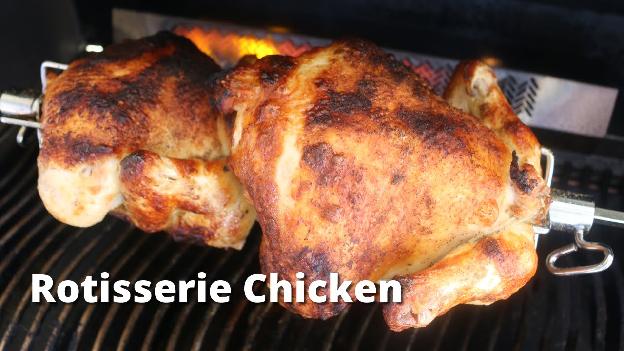 Chicken Gasgrill : Rotisserie chicken on the napoleon gas grill rotisserie chicken