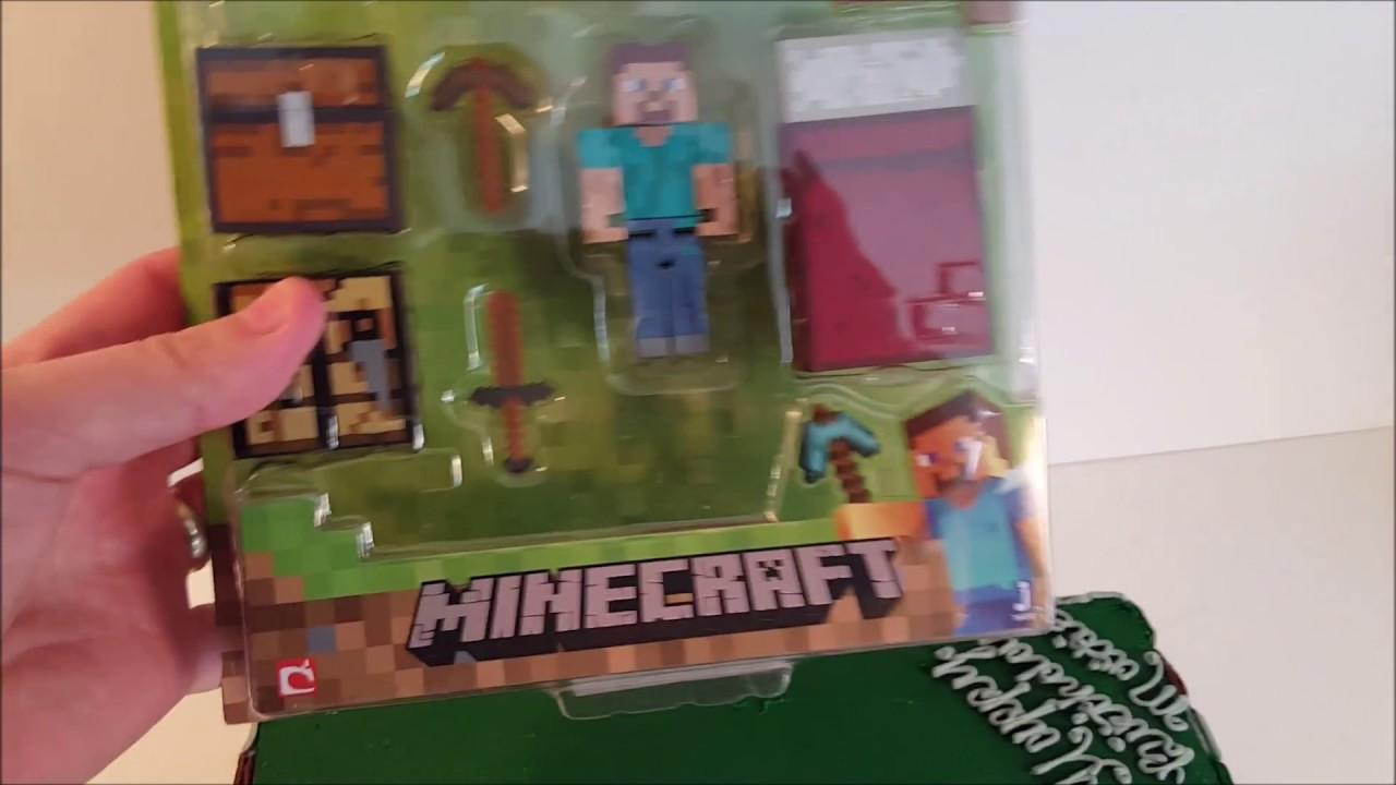 Diy Minecraft Birthday Cake Under 35 Youtube