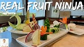The REAL FRUIT NINJA | Cutting Skills Of A Master Sushi Chef
