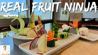 Download The REAL FRUIT NINJA | Cutting Skills Of A Master Sushi Chef Mp3 and Videos