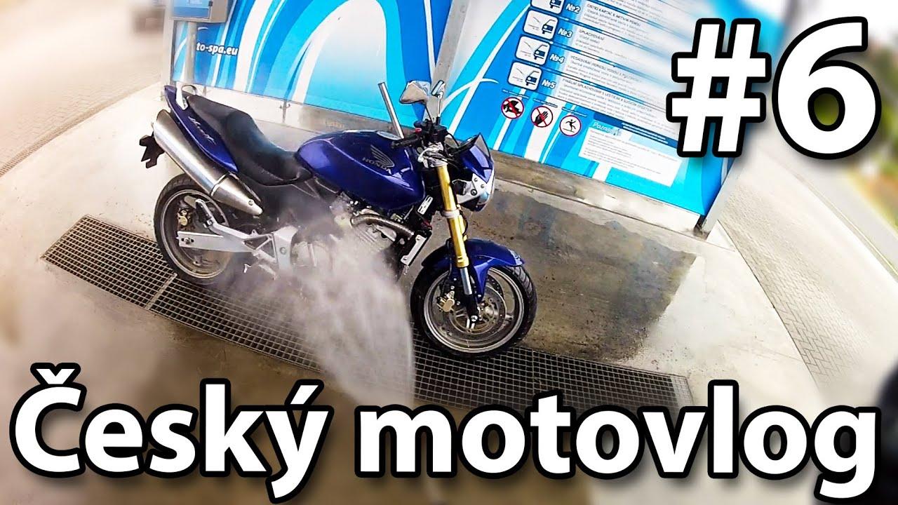 Myčka Facebook A Pokec český Motovlog 6 Honda Cb 600 F Hornet