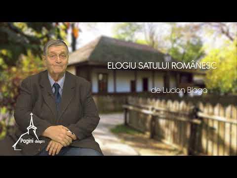Elogiu Satului Românesc - Lucian Blaga
