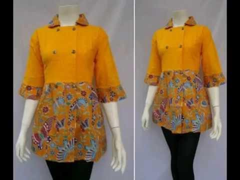 Model Seragam Baju Batik Kantor Baju Batik Kerja Seragam Batik Kerja Bb 576adc92