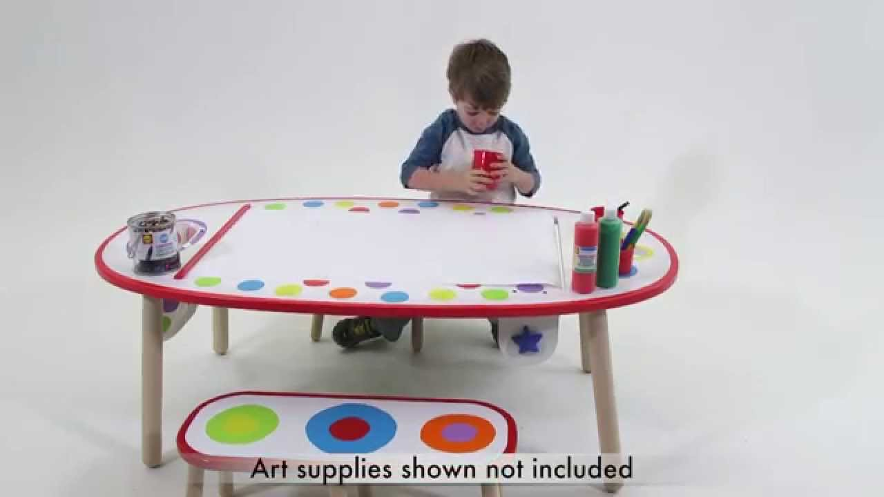 Nice ALEX Toys Super Art Table Rainbow Dot 711WC
