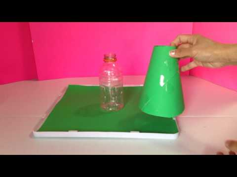 How To Make A Volcano For School Project