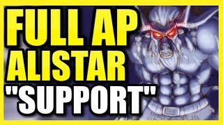 (ONE Q = ONE KILL!) THIS *NEW* FULL AP ALISTAR BUILD BREAKS THE CHAMPION! BEST ALISTAR SUPPORT BUILD