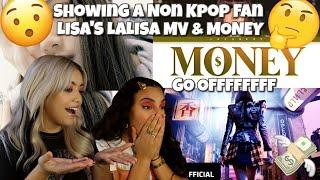 NON KPOP FAN REACTS TO LISA'S 'LALISA' MV & MONEY
