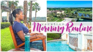 My Morning Routine on Vacation - Self Care While Traveling