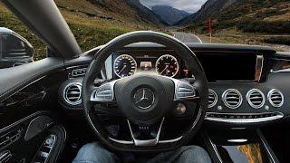 Mercedes S 500 Coupe POV Silvretta & Sound