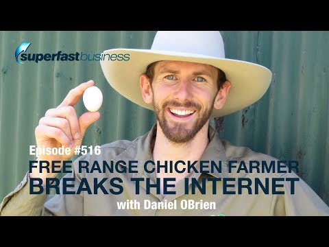 Free Range Chicken Farmer Breaks The Internet