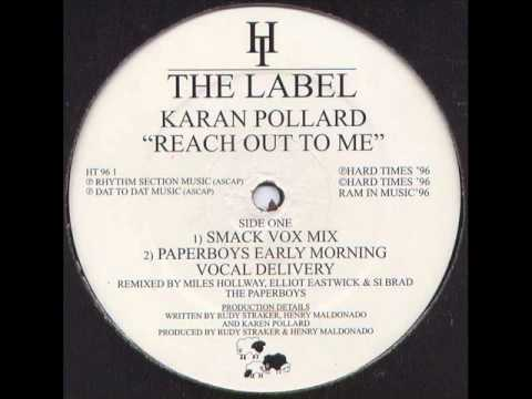 Karan Pollard - Reach Out To Me - Paperboys Early Morning Vocal Delivery
