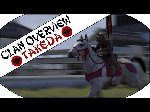 TAKEDA CLAN OVERVIEW - Total War: Shogun 2!