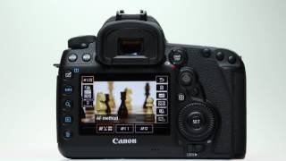 canon eos 5d mark iv video af operation and features
