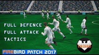 PES 6 - Full Defence/Attack Tactics