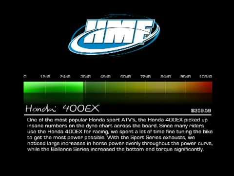 hmf honda 400ex 2006