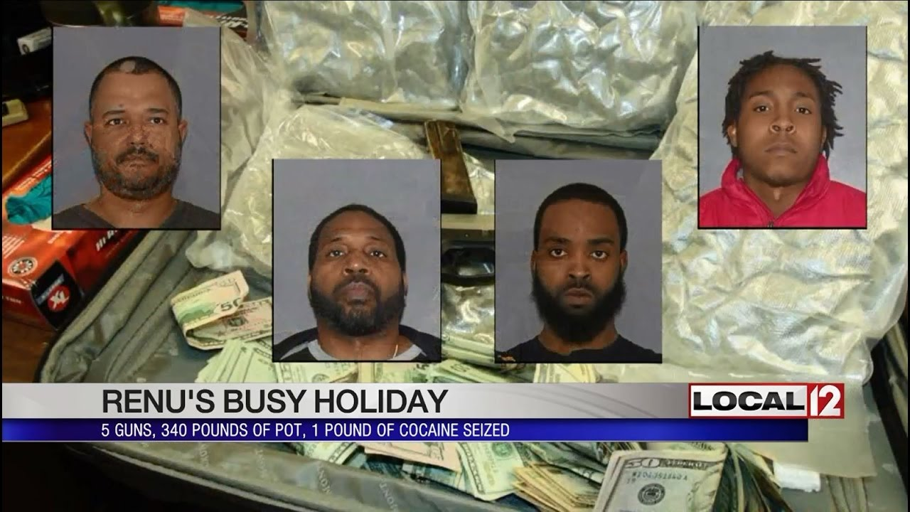 Ten arrested, 365 pounds of pot seized during three drug investigations