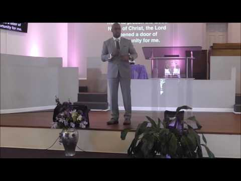 Don't Miss your Moment of Opportunity by Pastor Andre Mitchell