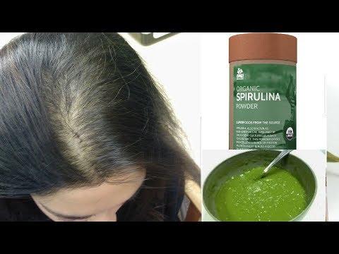 السبيرولينا معجزة لتنبيت فراغات الشعر