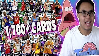 Every card in the game! nba 2k17 squad builder (goodbye 2k17)
