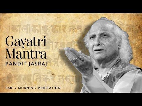 Клип Pandit Jasraj - Gayatri Mantra
