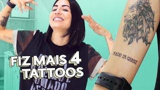 MINHAS NOVAS TATUAGENS! + SIGNIFICADOS   Camila Lima