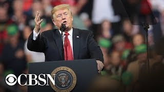 Watch Now: President Trump hosts 'MAGA' Rally in Ohio tonight, live stream