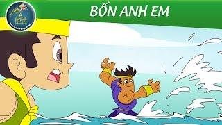 Phim hoạt hình hay nhất - BỐN ANH EM - Quà tặng cuộc sống - Truyện cổ tích - Fairy Tales